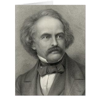 Author Nathaniel Hawthorne 1883 Card