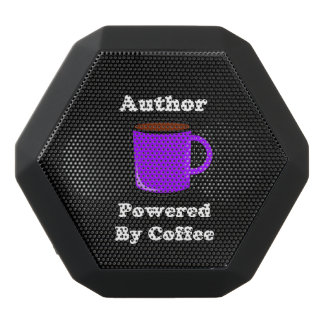 """""""Author"""" Powered by Coffee Black Bluetooth Speaker"""