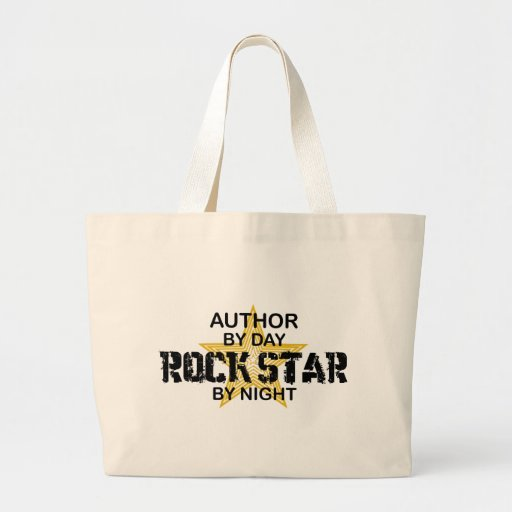 Author Rock Star by Night Bags