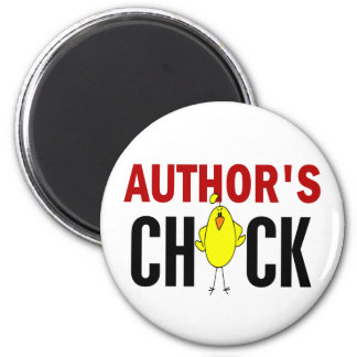 Author's Chick Refrigerator Magnets