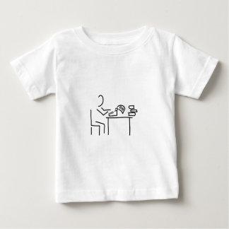 author writer typewriter shirt