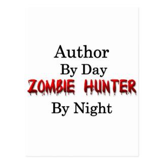 Author/Zombie Hunter Postcard