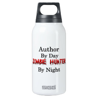 Author/Zombie Hunter 10 Oz Insulated SIGG Thermos Water Bottle