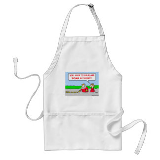authority delegate king adult apron