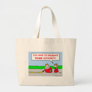 authority delegate king canvas bags