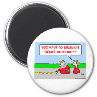 authority delegate king magnet