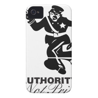 Authority is not Priority iPhone 4 Cases