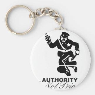 Authority policeman keychain