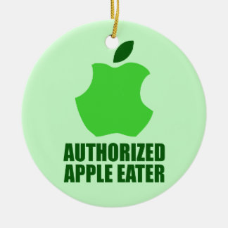 Authorized Apple Eater Ornament