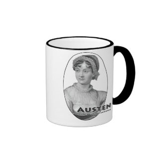 Authors-Austen mug