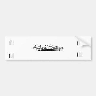 Authors Boutique Paper Products Car Bumper Sticker