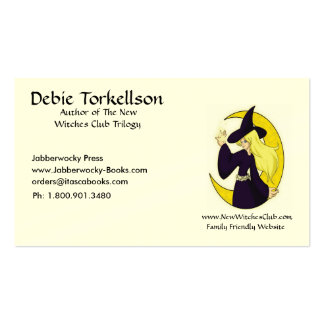 Author's  business card
