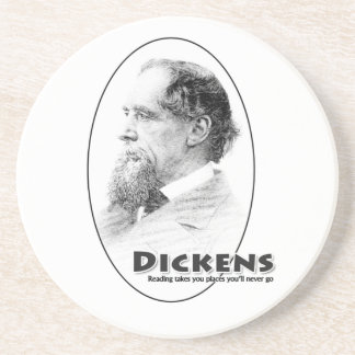 Authors-Dickens coaster
