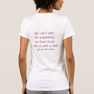 Authors Incognito T shirt-Women's-Med.