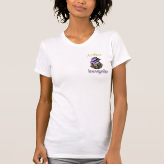 Authors Incognito T shirt-Women's Med. Tee Shirts