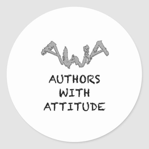 Authors With Attitude Classic Round Sticker