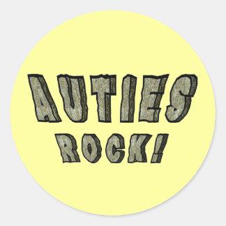 Auties Rock Stickers
