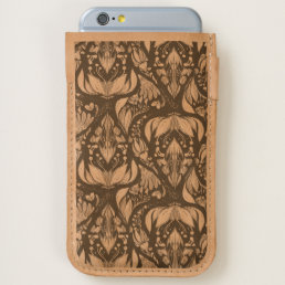 Autimn floral rustic beautiful stylish pattern iPhone 6/6S case