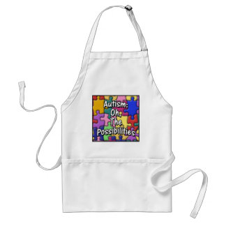 autism3large adult apron
