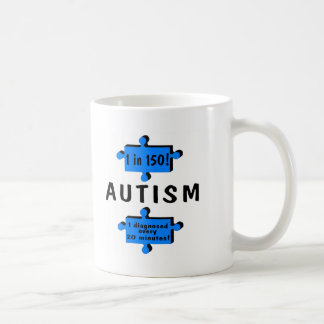 Autism 1 in 150 1 Every 20 Minutes Mug