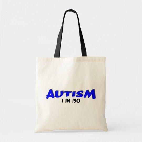 Autism 1 in 150 Blue Tote Bag