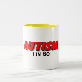 Autism 1 In 150 Red Coffee Mug