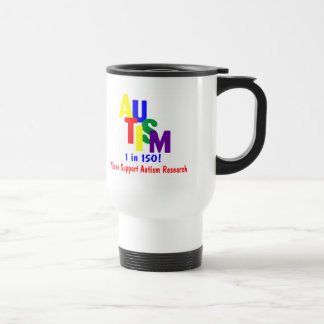 Autism 1 in 150 (Support Autism Research Bright) Coffee Mug