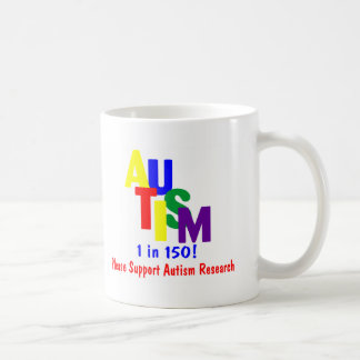 Autism 1 in 150 Support Autism Research Mug