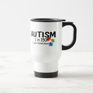 Autism 1 in 150 Support Research (PP) Mugs