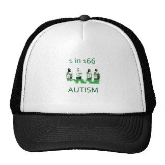Autism 1 in 166 trucker hat