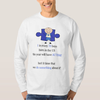 Autism 1 in 70 T-Shirt