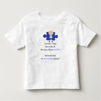 Autism 1 in 70 toddler t-shirt