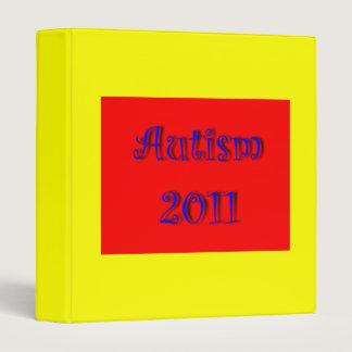 Autism 2011 Avery Binder