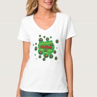 Autism#2 Ladies 3/4 Sleeve Raglan (Fitted) T-Shirt