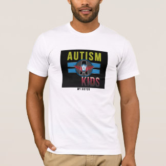 'Autism A Kids' Basic American Apparel Tee* T-Shirt