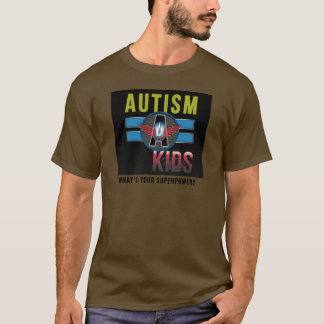 'Autism A Kids' Mens Basic Long Sleeve Shirt* T-Shirt