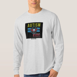 'Autism A Kids' Mens Basic Long Sleeve T-Shirt* T-Shirt
