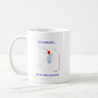 Autism Abstract Coffee Mug
