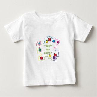 Autism Accept It!!! Baby T-Shirt
