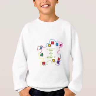 Autism Accept It!!! Sweatshirt