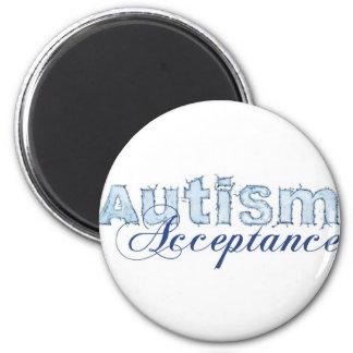 Autism Acceptance 2 Inch Round Magnet