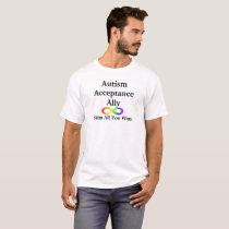 Autism Acceptance Ally T-shirt