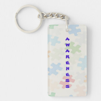 Autism Acceptance and Awareness Key Chain