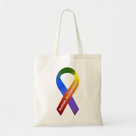 Autism Acceptance Tote Bag