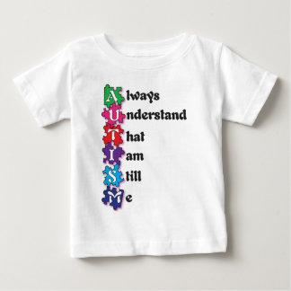 Autism Acrostic Poem Baby T-Shirt