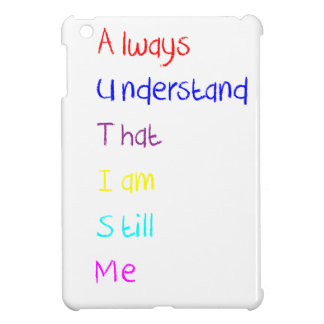 Autism Acrostic Poem Crayon iPad Mini Cases