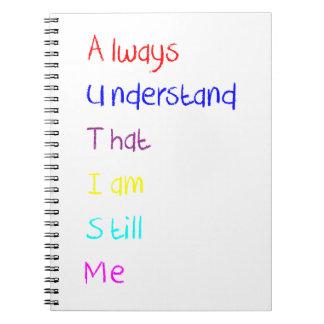 Autism Acrostic Poem Crayon Notebooks