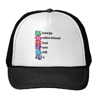 Autism Acrostic Poem Trucker Hats