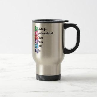 Autism Acrostic Poem Travel Mug