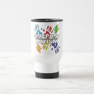 Autism Advocacy Handprints Mugs